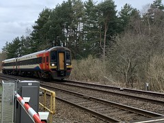 Photo of 158856  at Santon Downham Crossing