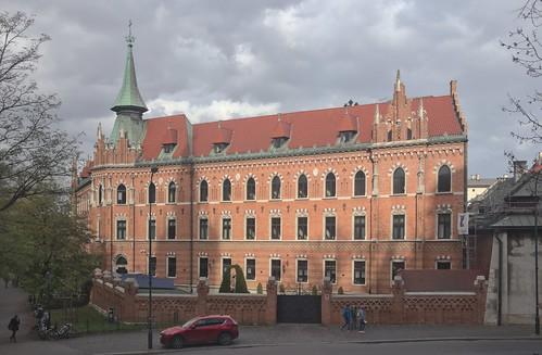 2018-10-30 PL Kraków I Stare Miasto, Podzamcze, Wyższe Seminarium Duchowne Archidiecezji Krakowskiej