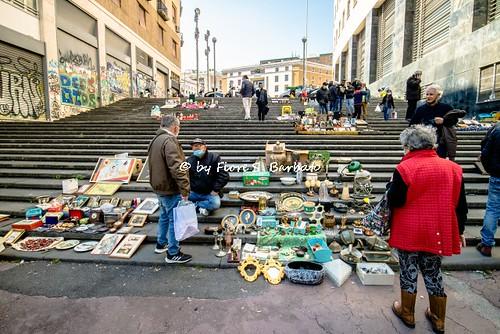 Napoli (NA), 2021, Via Monteoliveto.