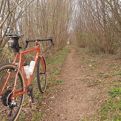Trail magic #ccycles #gravelbike