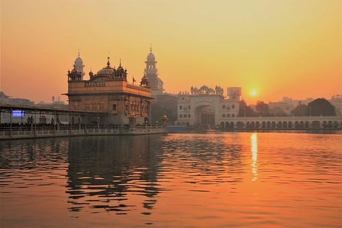 Sri Harmandir Sahib  - Sunrise