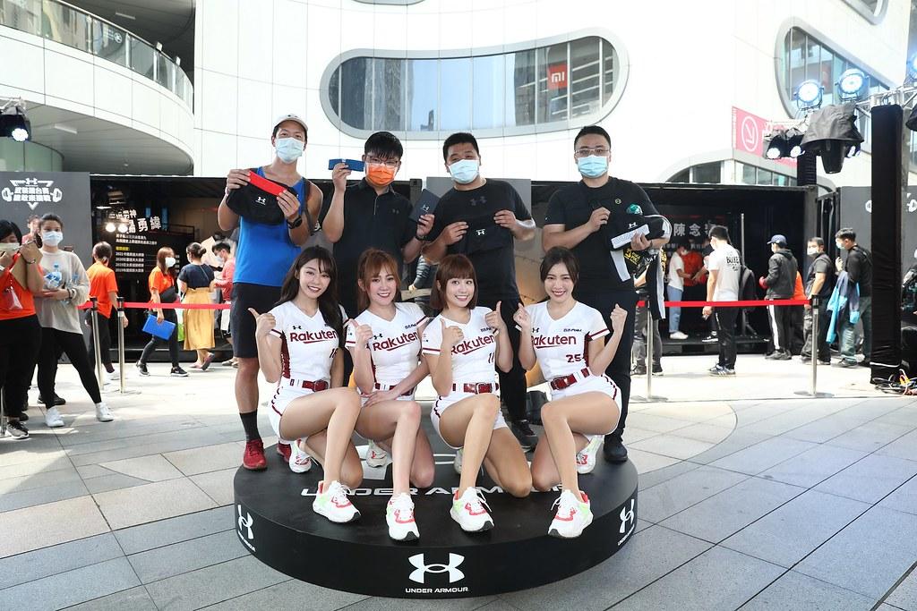 UA廣邀民眾透過實際感受Team UA運動選手訓練強度向台灣頂尖運動選手致敬!