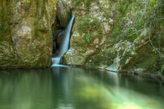 Kleiner Wasserfall am Haselbach