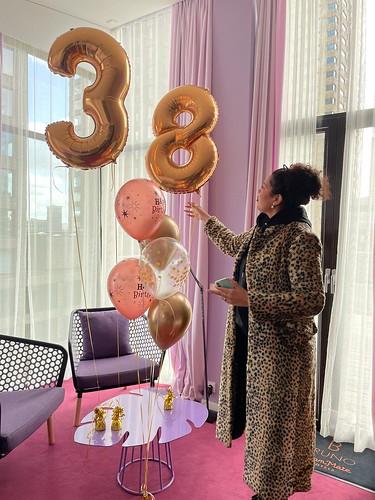 ballonboeket Room Mate Bruno Hotel Rotterdam