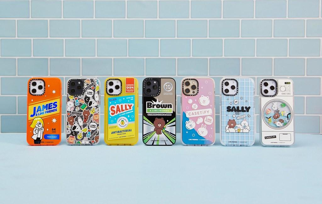 2. LINE FRIENDS 與 CASETiFY 聯名推出電子配件商品, 4 月 26 日於 CASETiFY 官方正式發售