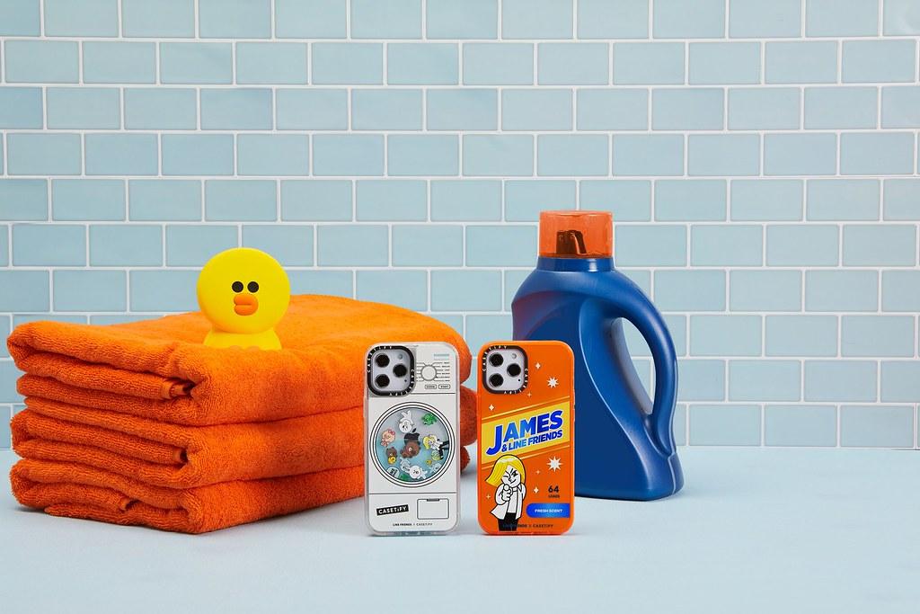 3. CASETiFY 以日常清潔用品如清潔噴劑、洗衣精及肥皂泡泡等為設計靈感,推出超萌電子配件