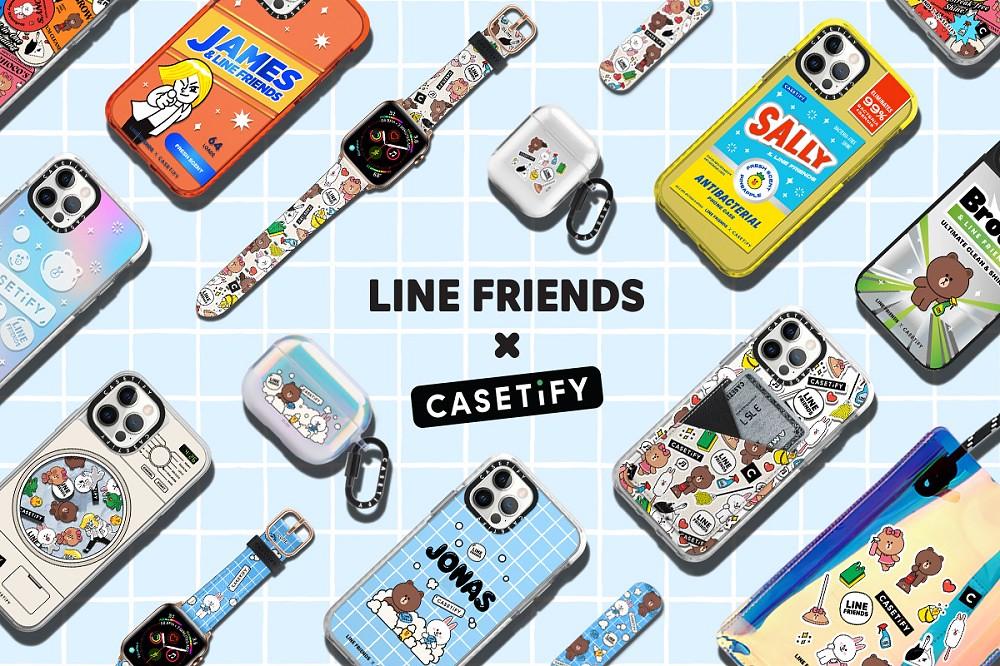 1. LINE FRIENDS 與 CASETiFY 聯名推出電子配件商品, 4 月 26 日於 CASETiFY 官方正式發售