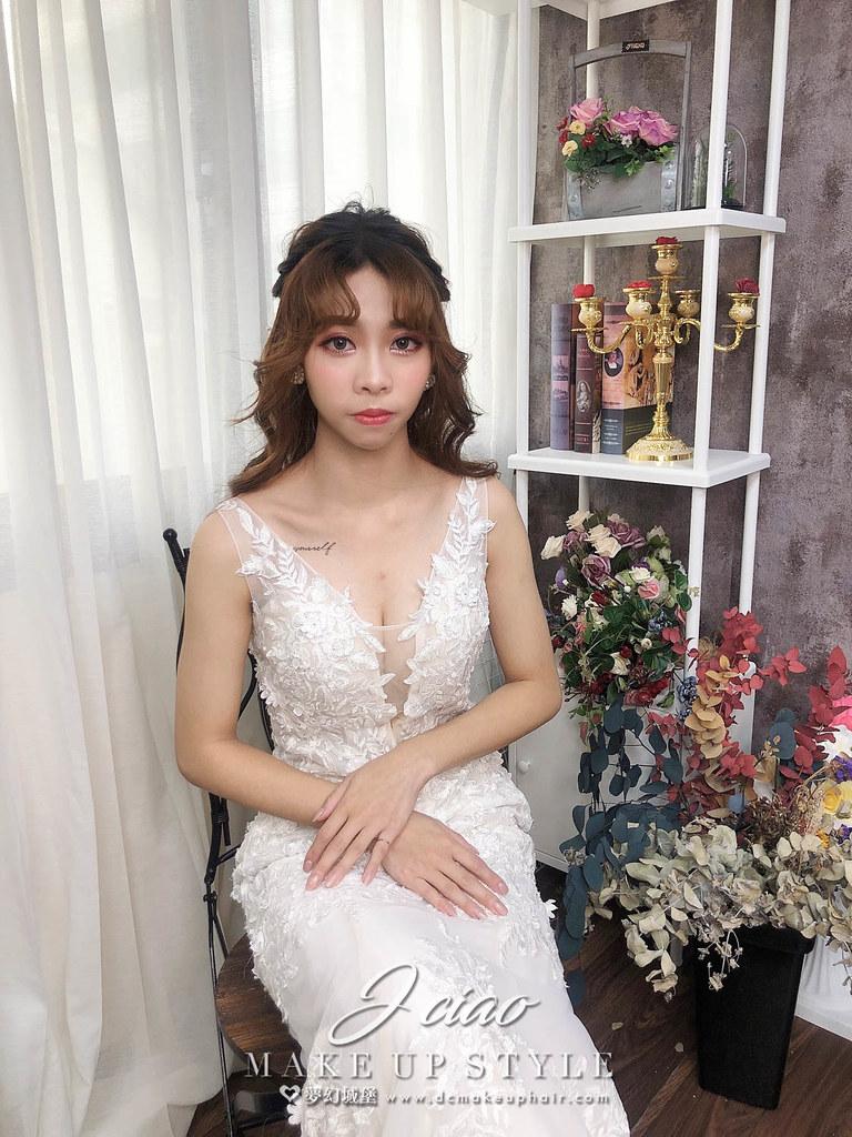 【新秘婕喬】新娘造型創作 / 韓系蝴蝶結造型