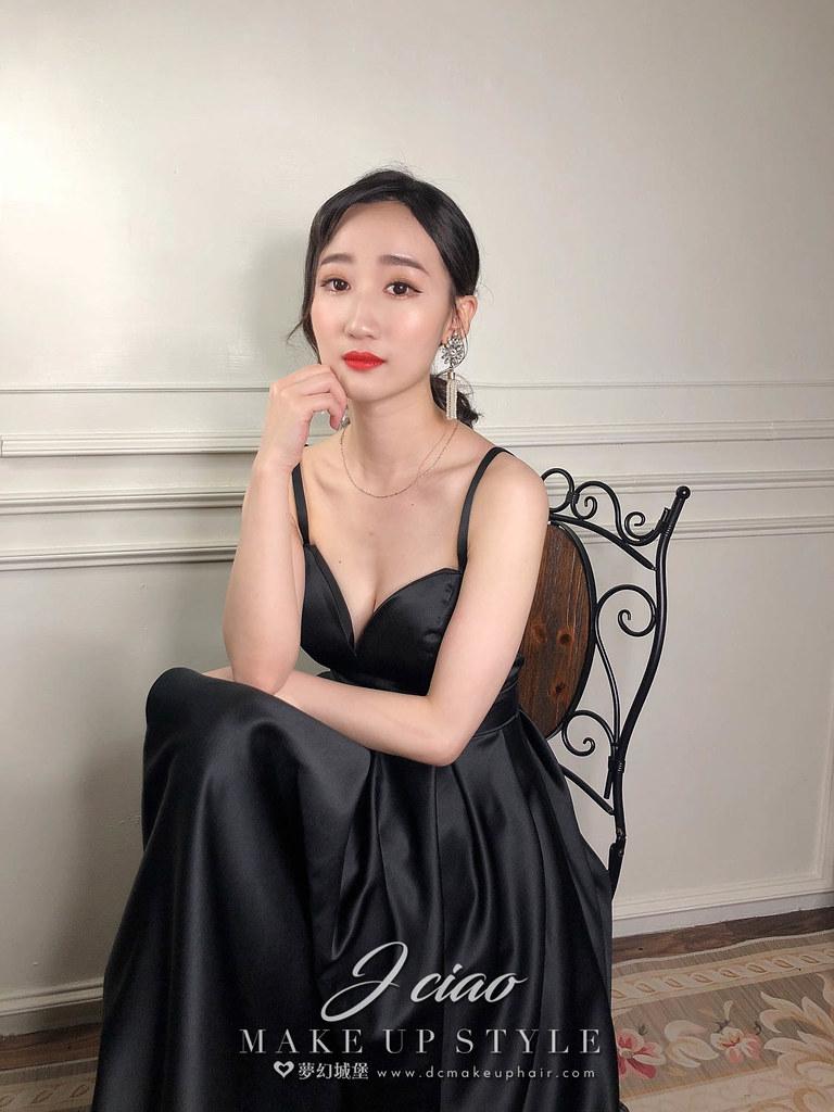 【新秘婕喬】新娘造型創作 / 法式優雅女神