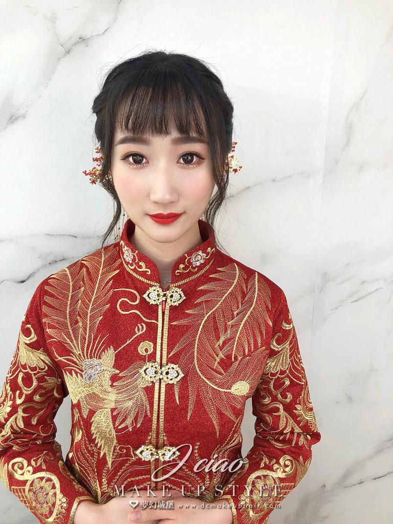 【新秘婕喬】新娘造型創作 / 清新中式造型
