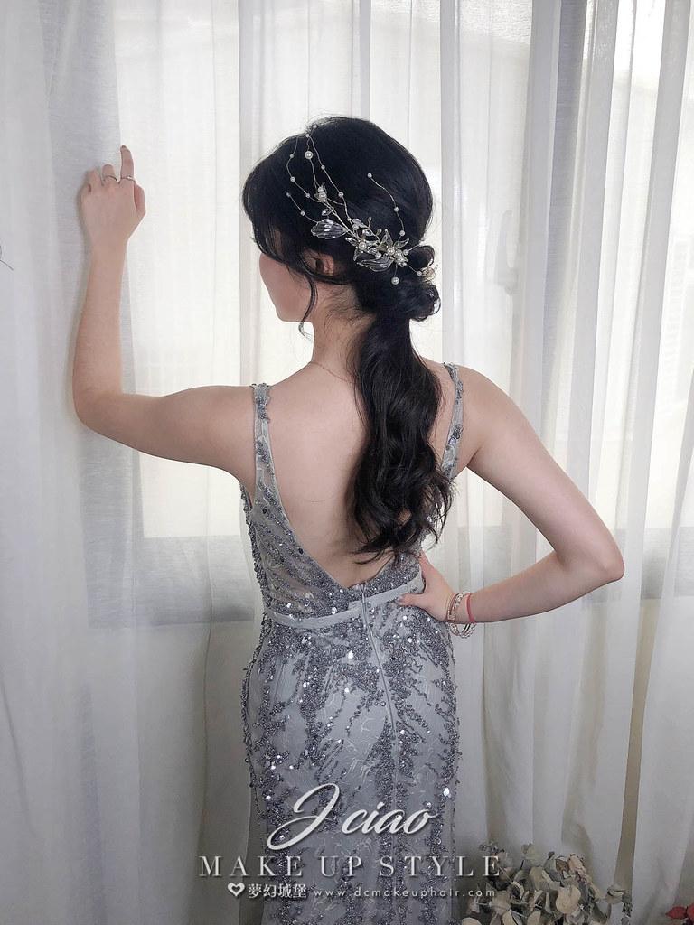 【新秘婕喬】新娘造型創作 / 柔美女神造型