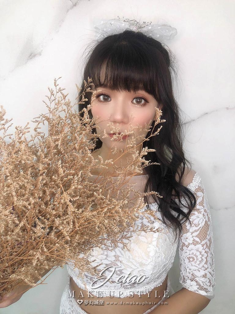 【新秘婕喬】新娘造型創作 / 素人改造
