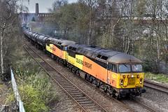 Photo of 56105-56094 6E32 Preston Docks-Lindsey empty bitumen, Daisyfield Junction Blackburn 13.04.2021