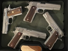Colt 1911's. Brought back to life
