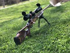 Browning X-Bolt - Cerakoted Rose gold and armor black