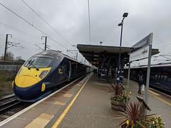 Photo of 395023 departs Ashford International