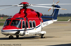 Photo of PH-EUJ parked at SaxonAir