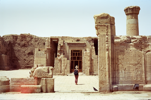 "Pondering Edfu  (Voigtlaender Bessa II / MF Portra 400) • <a style=""font-size:0.8em;"" href=""http://www.flickr.com/photos/65969414@N08/51115005425/"" target=""_blank"">View on Flickr</a>"