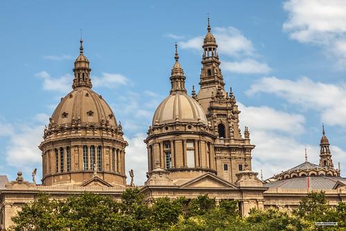 National Palace of Barcelona, Catalonia, Spain.
