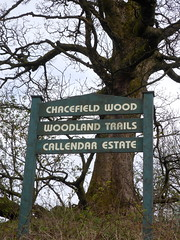 Photo of Chacefield Wood signpost