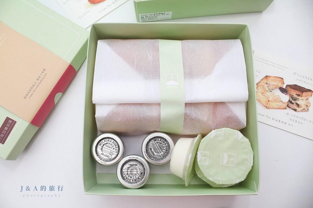 Cream Tea。超人氣玫瑰檸檬塔、司康,預約後要等半年才吃得到的! @J&A的旅行