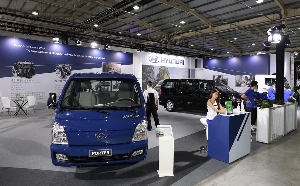 邀請消費者前往2021商業車博覽會HYUNDA展區參觀