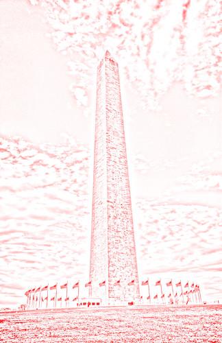 Washington Monument Drawing