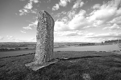 Photo of Pictish Stone B+W