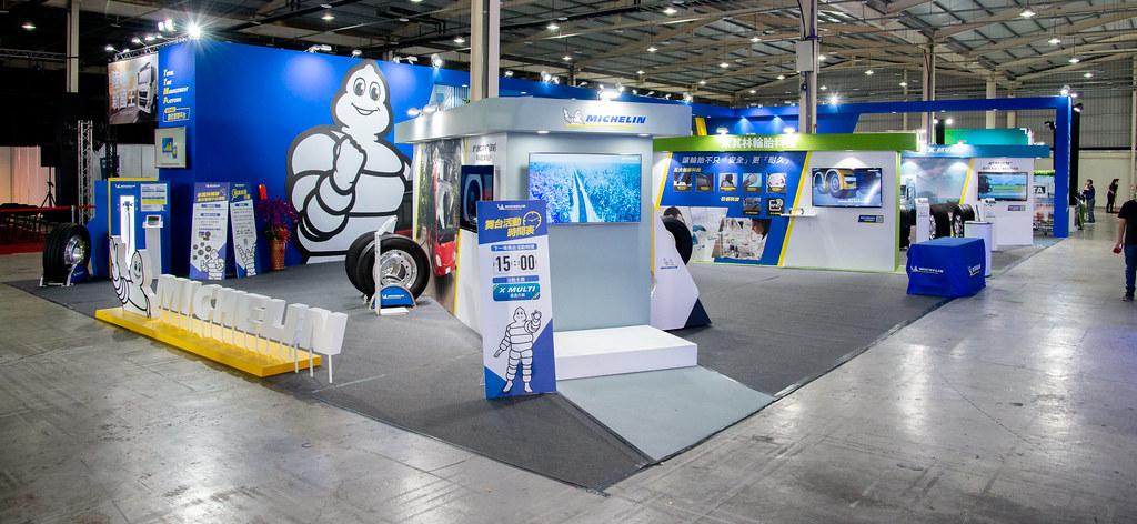 台灣米其林卡客車胎新品即日起至4月18日每日上午900至下午1730於台中國際展覽館展出。