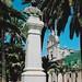Trani, Piazza Plebiscito, Monumento to Matteo Renato Imbriani and Chiesa San Domenico