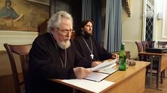 15 апреля 2021, Старейший клирик епархии встретился со студентами семинарии
