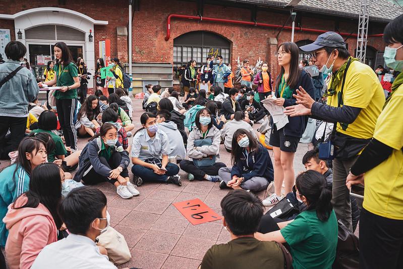 高中生聯合淨街活動,淨街,台客劇場,活動紀錄,活動紀實,紀實攝影,淨街活動,環保,環境保護