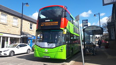 Photo of First Leeds Wright Streetdeck SL67 VWY 35272