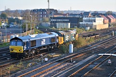 Photo of DRS 66031 and 37407