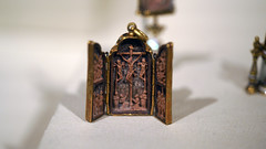 Pendant triptych with scenes of the Passion