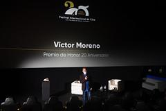 VÍCTOR MORENO, LADY HARIMAGUADA DE HONOR 20 ANIVERSARIO