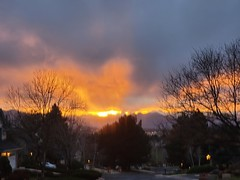 April 6, 2021 - A beautiful sunset. (David Canfield)