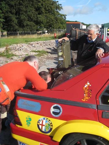 Won't go without petrol - Keith Waite's75