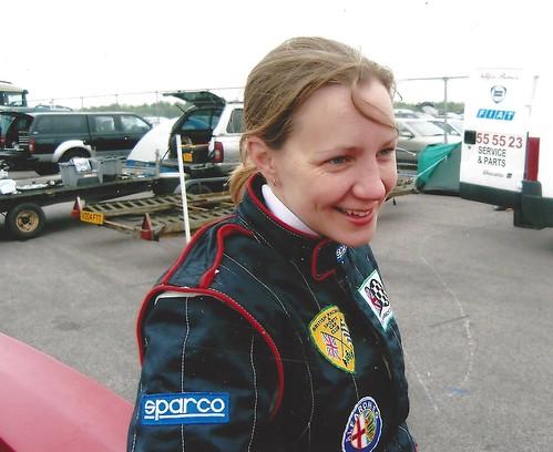 Emma Karwacki shared Champagne Moment in 2009