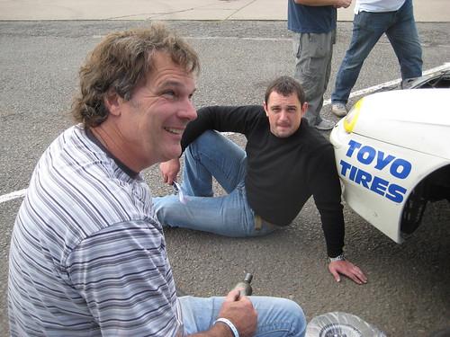 Chris Snowdon and Gethin Llewellyn
