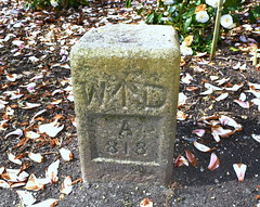 Photo of WD BOUNDARY STONE