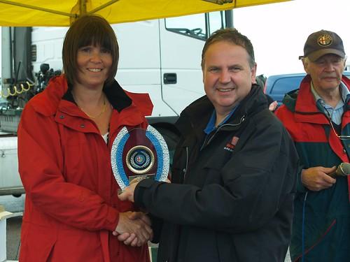 Chris Healey Class E winner at Rockingham