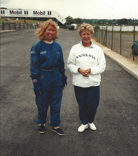 Lisa Starns with Jean Parsons at Mallory 1994