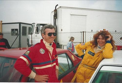 Clive Hodgkin and Sue Bland