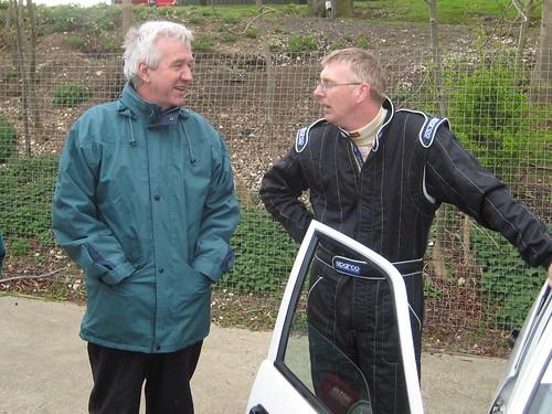 Clive Hodgkin and Steve Fletcher