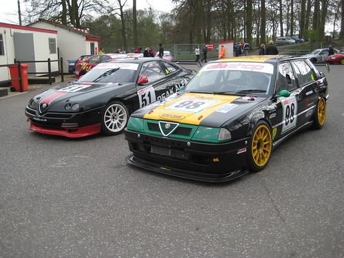 Cadwell 2009 Roger Evans (GTV) and Adie Hawkins (33)
