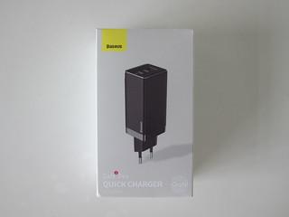 Baseus 65W GaN Dual USB-C Plus USB-A Charger