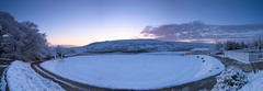 Photo of Fresh snowfall - only 6 days to the start of the cricket season at Hemplow, Marsden Cricket Club.