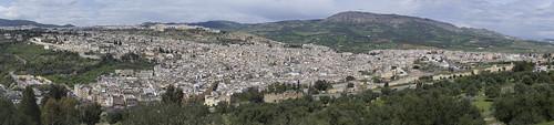 Panorama of Medina of Fes, 21.03.2015.
