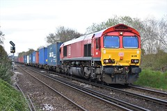 Photo of DB Cargo 66019